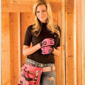 "Tool belt ""Tuff chix ""tool belt & Rice hot pad"